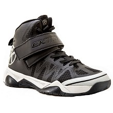 release date 2b25b c3ed9 Ektio Black Alexio Ankle Support Basketball Shoes